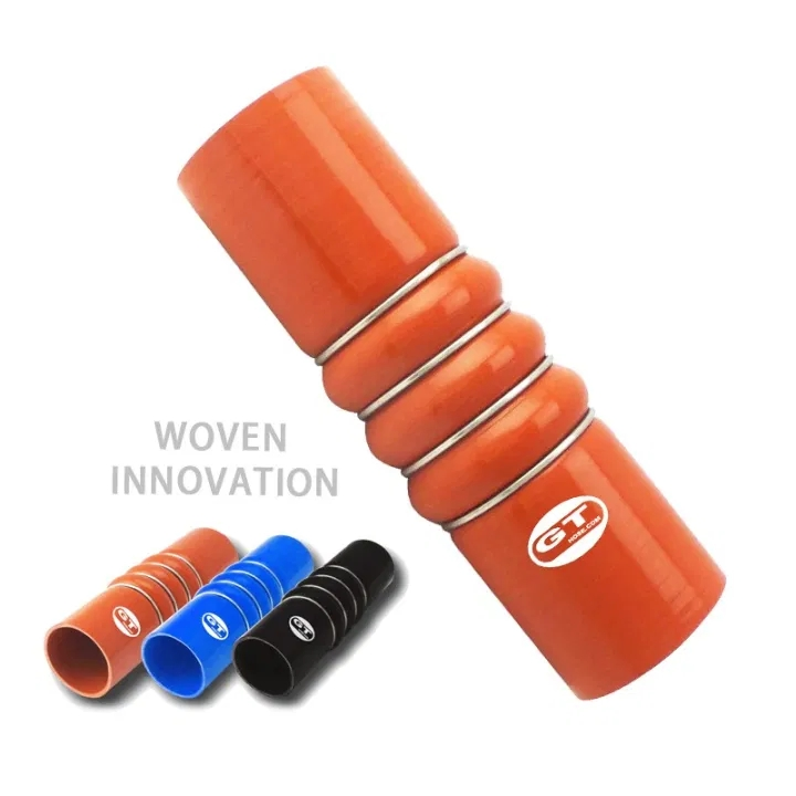 3 Bellow with 4 rings silicone hose